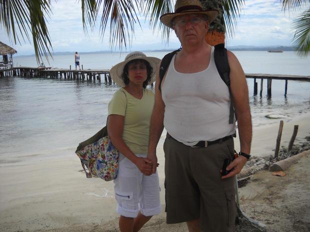 Jim and Lillian Faust arrive in Panama