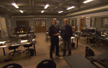 """On the set of """"Homeland"""" with Mandy Patinkin"""
