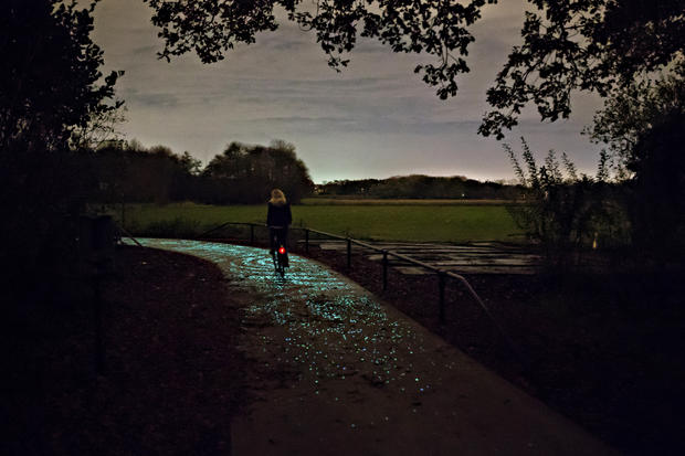 Starry Night biking