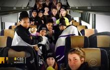 College basketball team spends over 24 hours on bus stranded in snow