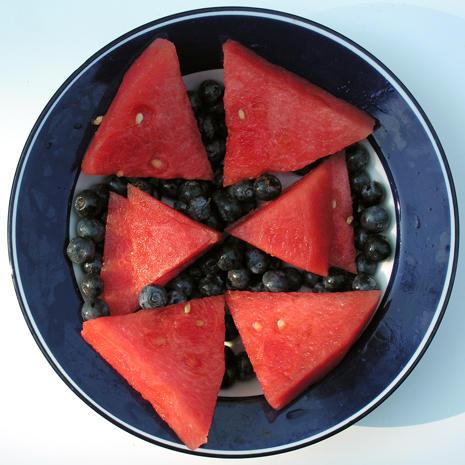 Fruit works of art