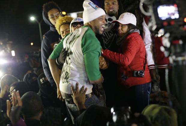 Demonstrations continue in Ferguson