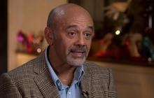 Louboutin on using spikes in shoe designs, breaking away from standards