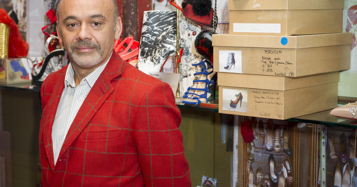 a645df817d16 Christian Louboutin  The inspiration behind the red sole - CBS News