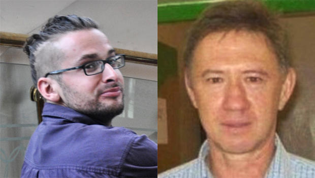 Undated photos of American photojournalist Luke Somers (left) and South African teacher Pierre Korkie, who were both held hostage by al Qaeda militants in Yemen. They were killed Dec. 6, 2014, during a U.S.-led rescue attempt.