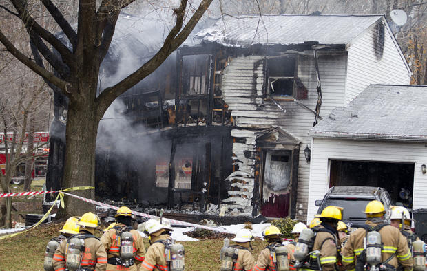 Plane hits house near Washington, D.C.