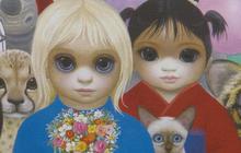 """The """"Big Eyes"""" paintings of Margaret Keane"""