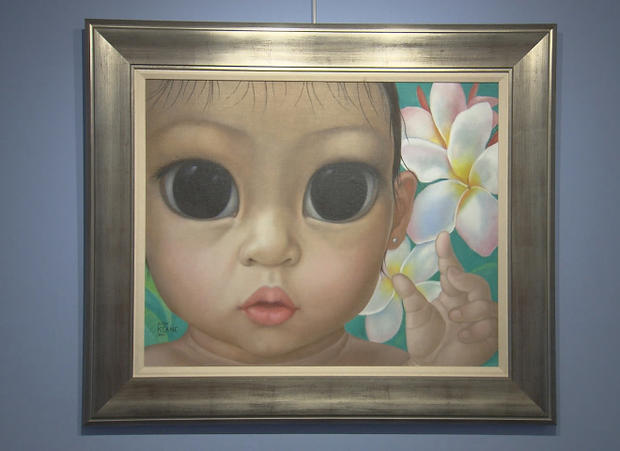 "The ""Big Eyes"" paintings of Margaret Keane"