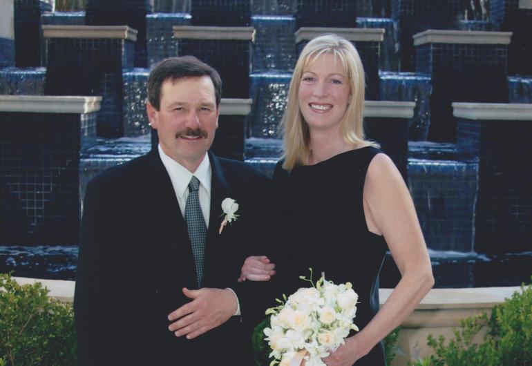 Mark Stover and Linda Opdycke