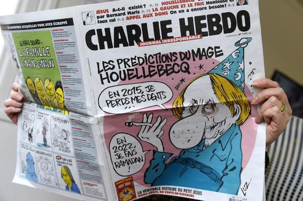 The work of Charlie Hebdo