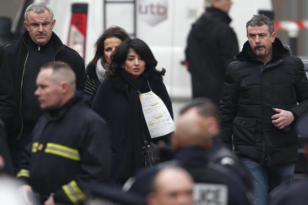Paris newspaper attacked