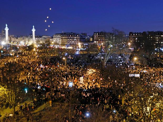 france unity rally