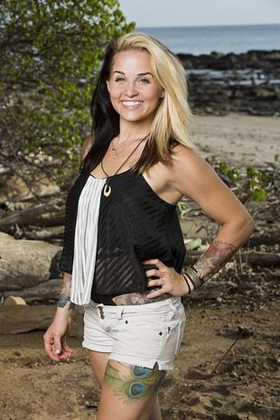 """Nina Poersch - """"Survivor: Worlds Apart"""" - Pictures - CBS News"""