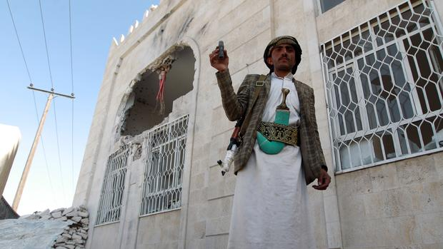 Yemen government falls