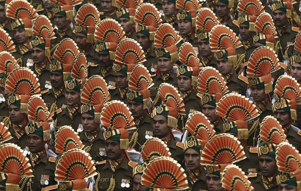 India's Republic Day: Symmetry on display
