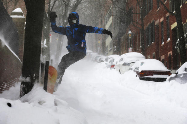 Fun in the snow: Making the most of Blizzard 2015