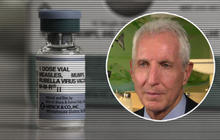 """Web Extra: Doctor thinks measles outbreak is """"over promoted"""""""