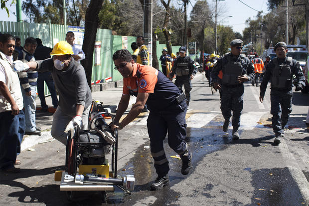 Explosion at hospital in Mexico City