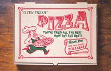 Pizza box art