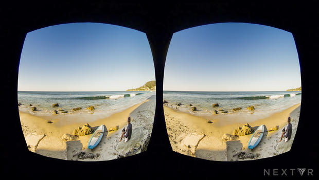 being there is virtual reality the future of journalism cbs news