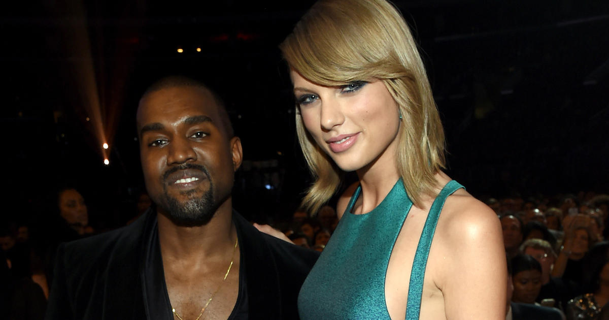 Kanye West Vs Taylor Swift A Timeline Cbs News