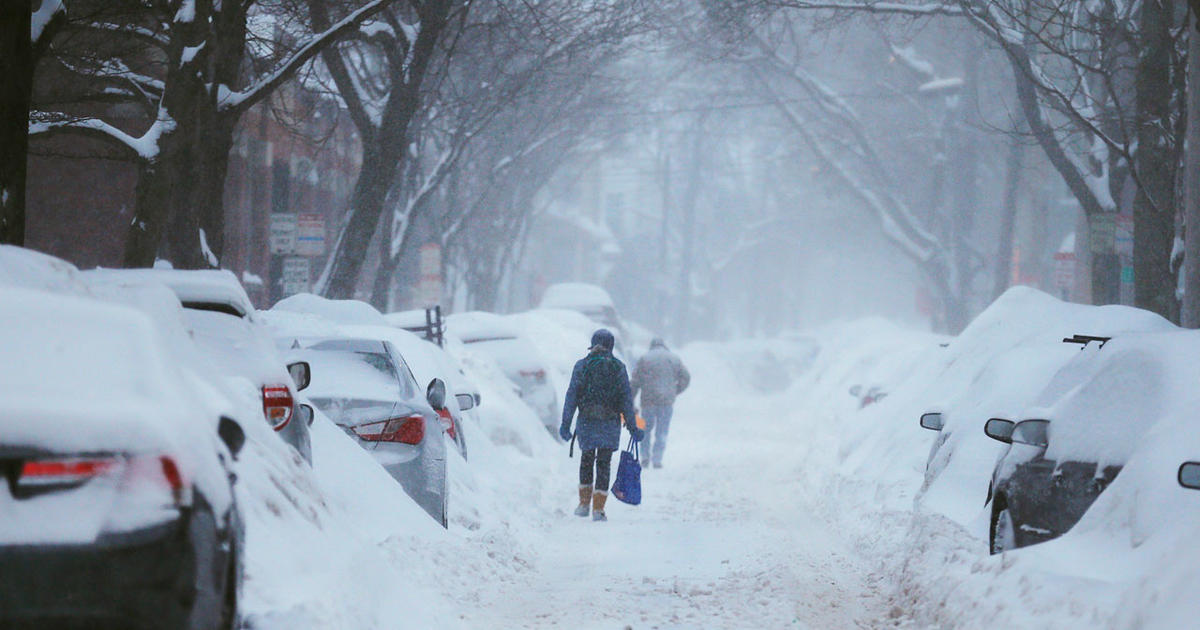 Snow Falling Off Roof Buries Man Pummels 4 Others In