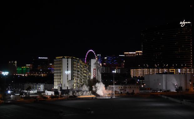 Las Vegas casino imploded