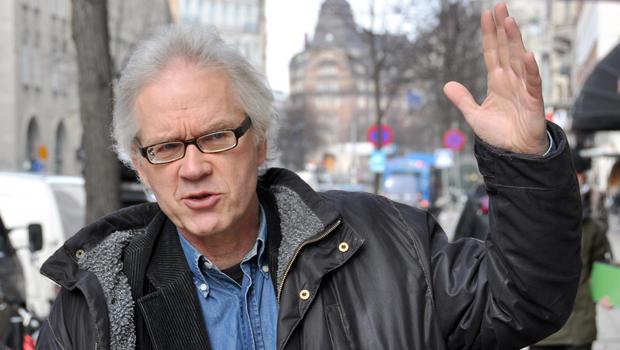 Swedish cartoonist Lars Vilks walks in the streets of Stockholm March 11, 2010.