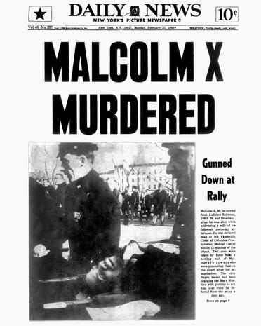 Image result for the assassination of malcolm x