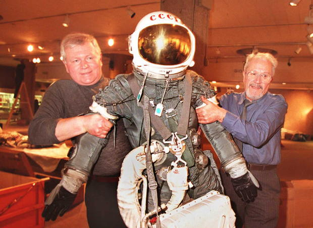 A complete history of space suits