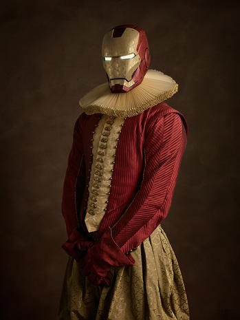 Superheroes reimagined for the 17th century