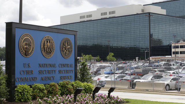 June 2013 file photo shows National Security Administration (NSA) campus in Fort Meade, Maryland