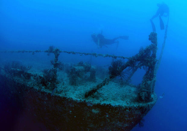 Shipwrecks and lost treasure