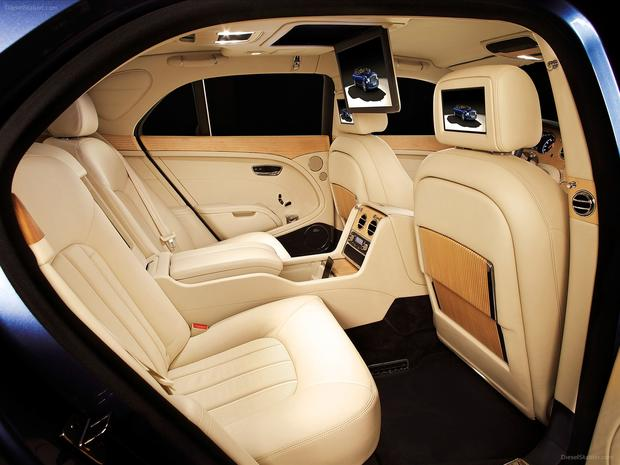 World's most luxurious car interiors