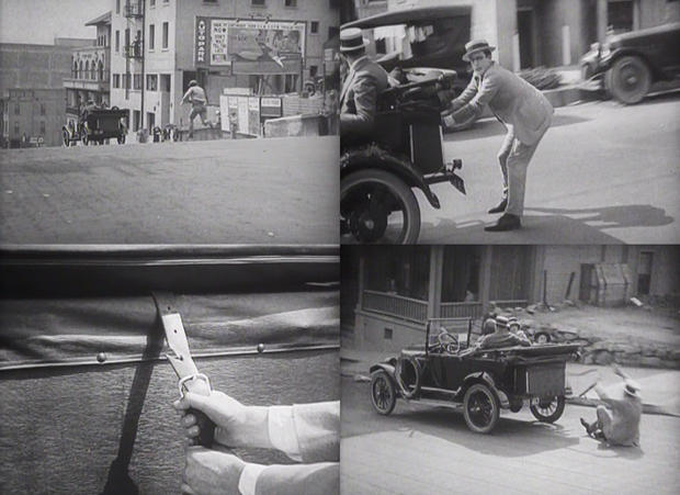 The thrilling Harold Lloyd
