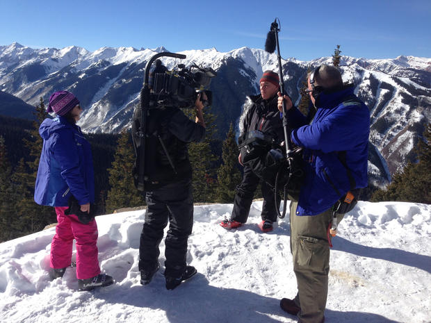 "Behind the Scenes in Aspen with ""48 Hours"""