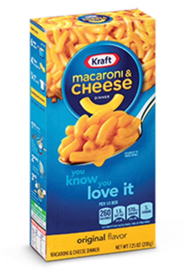 Kraft macaroni cheese recalled due to metal fragments for Mac due the box