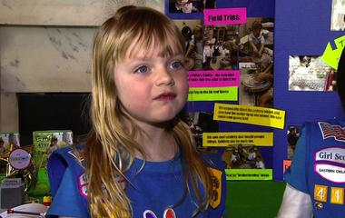 Science fair brings girl scouts, rocket teams to White House