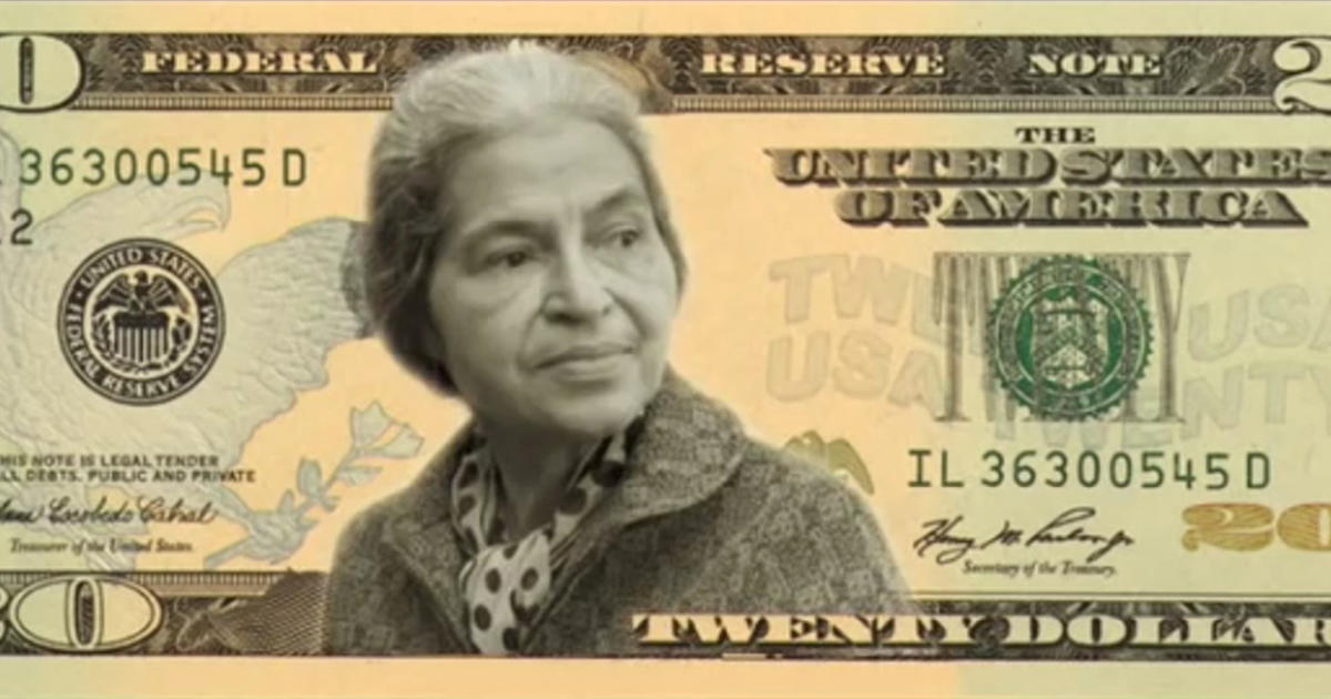 move over jackson its time for a woman on the 20 bill cbs news - Dollar Bill Frame