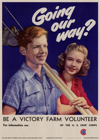 Quot Grow Vitamins At Your Kitchen Door Quot Propaganda Art For