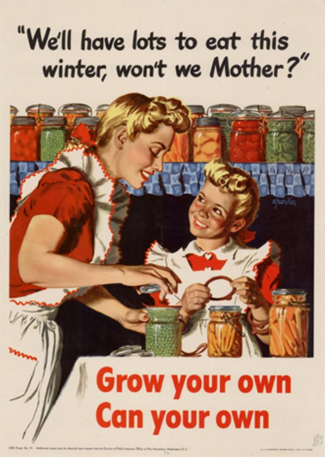 Propaganda art for WWII Victory Gardens - CBS News