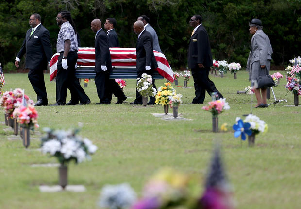 Walter Scott's funeral