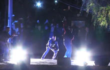 Kanye West gives surprise performance in Armenia