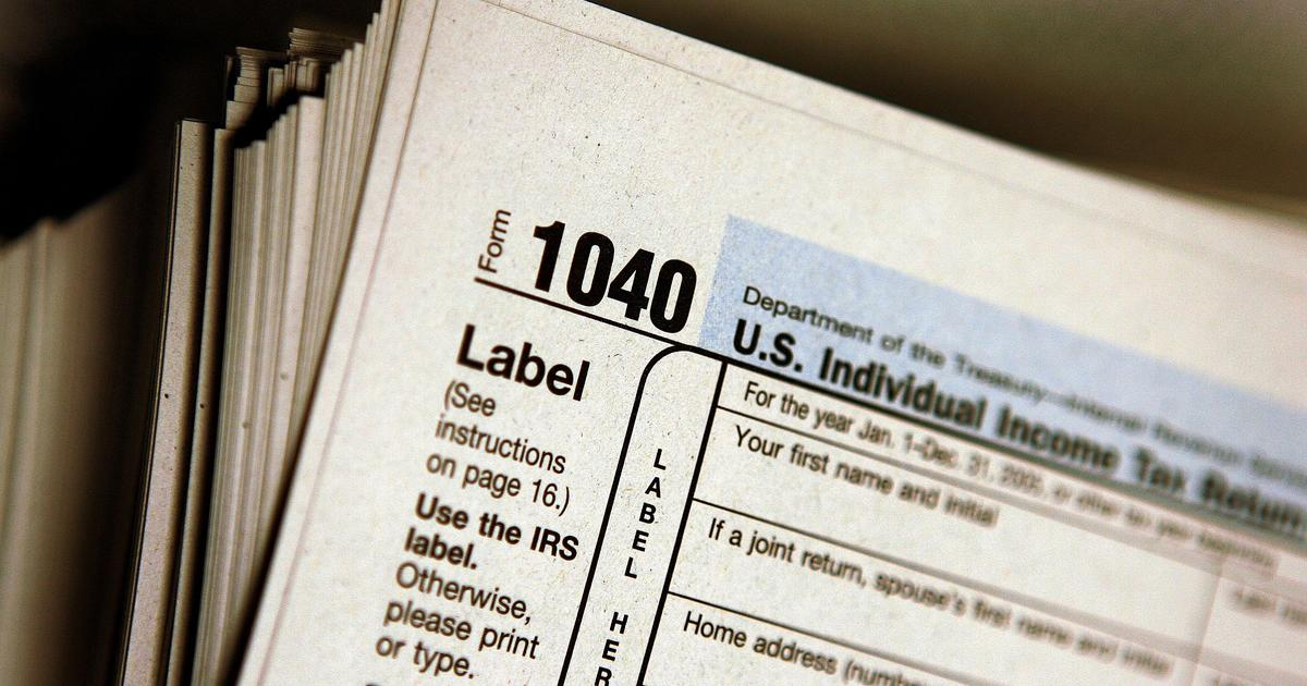The New Streamlined Irs Form 1040 What You Need To Know Cbs News