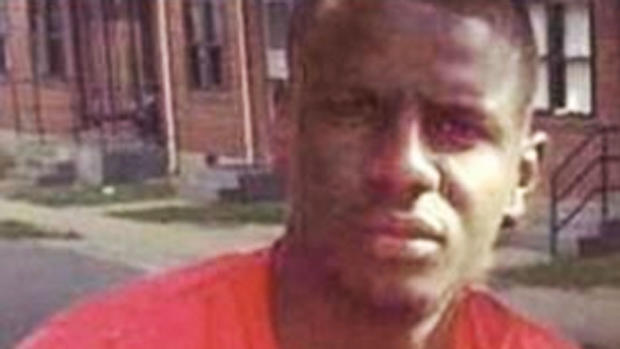​Freddie Gray in undated family photo