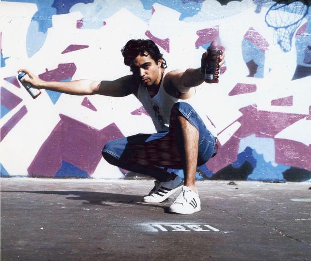 Kel1st at the graffiti wall of fame