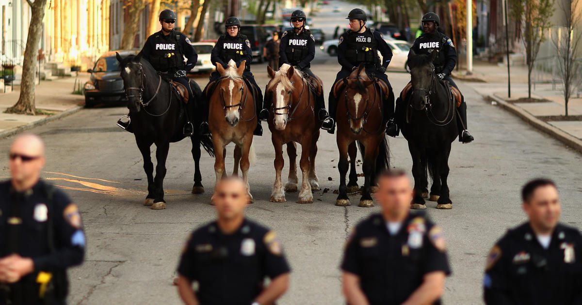 """Baltimore PD: """"Credible"""" gang threat against cops"""