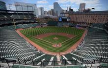 Orioles make history in empty stadium