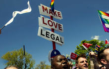 Supreme Court divided in historic gay marriage case