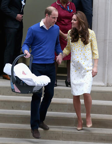 Britain welcomes royal baby